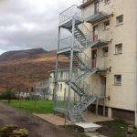 New fire escapes for MOD mountain training centre