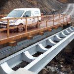 Access bridge and pipe bridge works complete