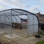 New bus shelter will protect passengers from the elements